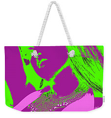 Beads And Boobs Weekender Tote Bag by Tbone Oliver