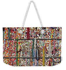 Beads In A Window Weekender Tote Bag by Stuart Litoff