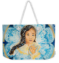 Flying Lamb Productions.        Beads Of Life Weekender Tote Bag