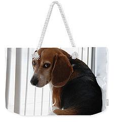Beagle Attitude Weekender Tote Bag