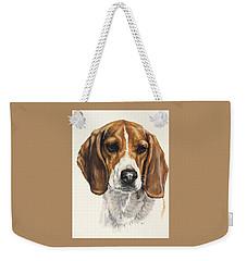 Beagle Weekender Tote Bag by Barbara Keith