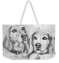 Beagle Boys Weekender Tote Bag
