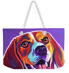 Beagle - Luca Weekender Tote Bag