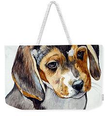 Beagle Puppy Weekender Tote Bag