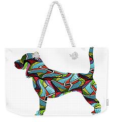 Beagle Spirit Glass Weekender Tote Bag