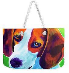 Beagle - Watson Weekender Tote Bag