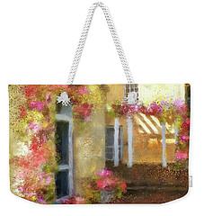 Weekender Tote Bag featuring the digital art Beallair In Bloom by Lois Bryan