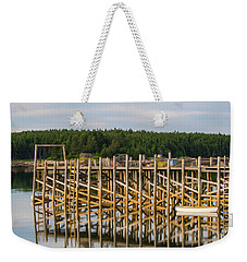 Weekender Tote Bag featuring the photograph Beals Island, Maine  by Trace Kittrell