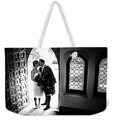 Beaming Newlyweds Weekender Tote Bag