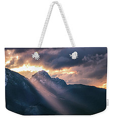 Beams Of Fire Weekender Tote Bag