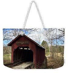 Bean Blossom Bridge, 1880 Weekender Tote Bag