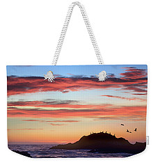 Bean Hollow Beach Weekender Tote Bag by Tim Fitzharris