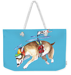 Beanie Bully  Weekender Tote Bag