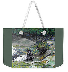 Bear Creek Weekender Tote Bag