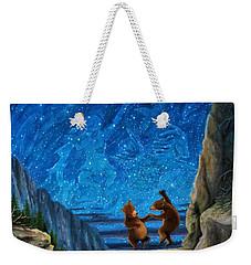 Bear Dance Weekender Tote Bag