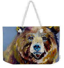 Bear Exposed Weekender Tote Bag