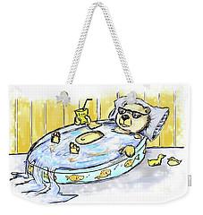 Bear Float Weekender Tote Bag
