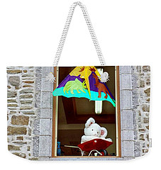 Weekender Tote Bag featuring the photograph Bear Formally Known As Teddy by John Schneider