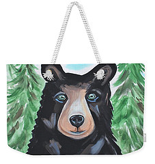 Bear In The Woods Weekender Tote Bag
