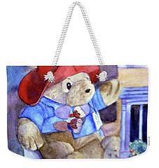 Bear In Venice Weekender Tote Bag