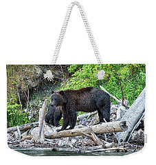 In The Great Bear Rainforest Weekender Tote Bag
