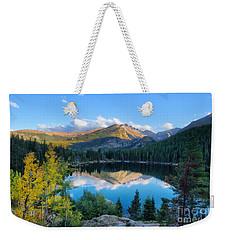 Bear Lake Reflection Weekender Tote Bag