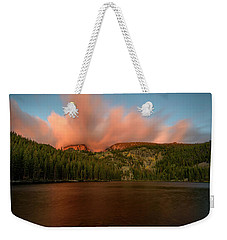 Bear Lake's Hallett Peak #1 Weekender Tote Bag