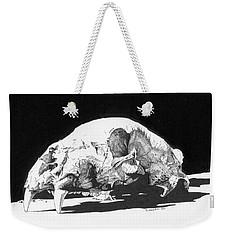 Bear Skull Weekender Tote Bag