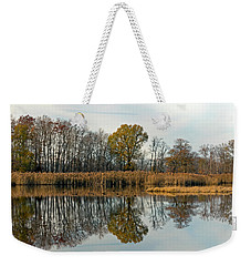 Bear Swamp Mirror Weekender Tote Bag