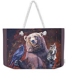 Bear The Arbitrator Weekender Tote Bag
