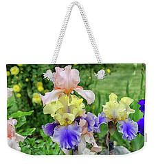 Bearded Iris Edith Wolford  Weekender Tote Bag
