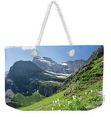 Beargrass - Grinnell Glacier Trail - Glacier National Park Weekender Tote Bag