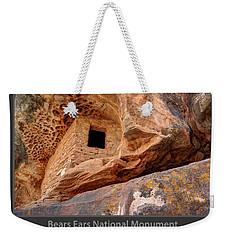 Bears Ears National Monument - Anasazi Ruin Weekender Tote Bag by Gary Whitton