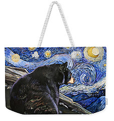 Beary Starry Nights Weekender Tote Bag