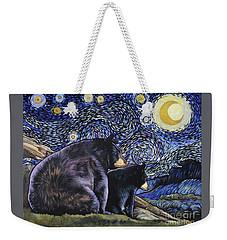 Beary Starry Nights Too Weekender Tote Bag