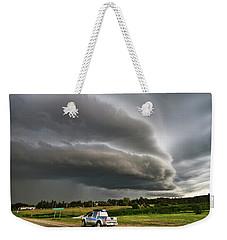 Beast Over Yorkton Weekender Tote Bag