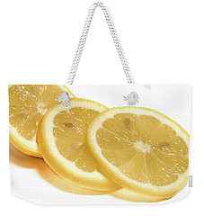 Weekender Tote Bag featuring the photograph Beat The Heat With Refreshing Fruit by Nick Mares