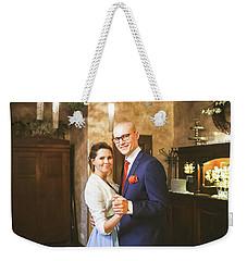 Beata Canvas Weekender Tote Bag