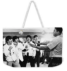 Beatles And Clay, 1964 Weekender Tote Bag