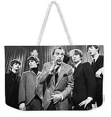 Beatles And Ed Sullivan Weekender Tote Bag