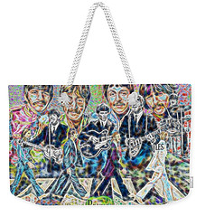 Beatles Tapestry Weekender Tote Bag