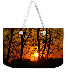 Beauatiful Red Sunset Weekender Tote Bag