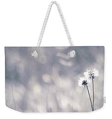 Weekender Tote Bag featuring the photograph Beaute Des Champs - 0101 by Variance Collections