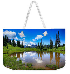 Weekender Tote Bag featuring the photograph Beautiful Afternoon  by Lynn Hopwood