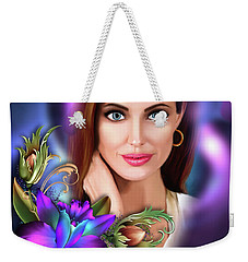 Beautiful Angie Weekender Tote Bag