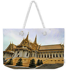Beautiful Architecture Royal Palace  Weekender Tote Bag