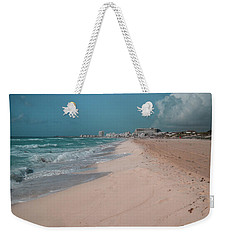Beautiful Beach In Cancun, Mexico Weekender Tote Bag