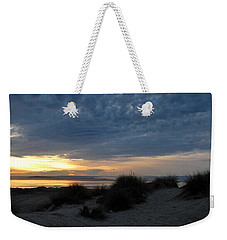 Beautiful Beach San Dunes Sunset And Clouds Weekender Tote Bag