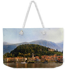 Weekender Tote Bag featuring the photograph Beautiful Bellagio by Jacqi Elmslie