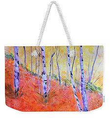 Beautiful Birches Weekender Tote Bag